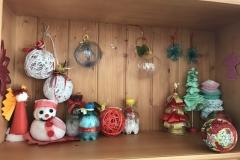rsa_mottafollone_mostra_arte_terapy_oggetti_natalizi